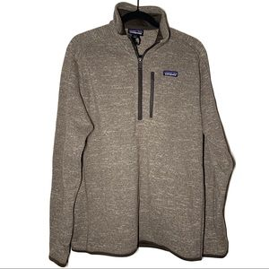 Patagonia 1/4 Zip Fleece Better Sweater Size L